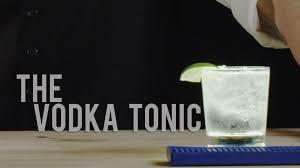 vodka tonic lemon how to make the vodka tonic best drink recipes youtube