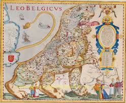 The Netherlands Map Rare Old Antique Maps Nederland The Netherlands Virtual Antique