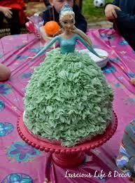 luscious life u0026 decor princess elsa cake all the details