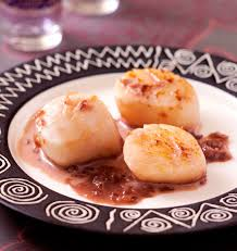 cuisiner des noix de jacques noix de jacques au porto les meilleures recettes de cuisine