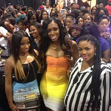 2015 bonner brothers hair show photos toya wright porsha stewart launched their new weave line