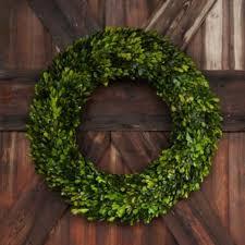 boxwood wreath 24 large preserved boxwood wreath antique farmhouse