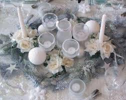 centre de table mariage fait maison centre de table givré déco de table