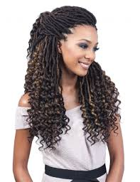braids crochet synthetic loc crochet braid nu locs goddess 20
