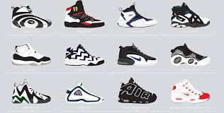 the 25 best basketball shoes of the 90s the best of the nineties