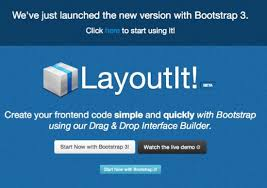 layoutit video layoutit free and powerful boilerplate for your next bootstrap 3