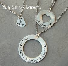 grandmother and granddaughter necklaces grandmother s handsted necklaces grandchildren s names metal