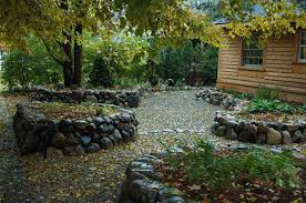 Raised Rock Garden Beds Rainwater Doesn T To Go The Drain Gardens To The