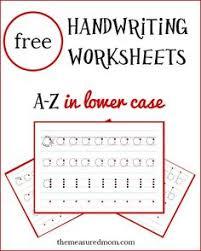 free printable handwriting abc worksheet free printables
