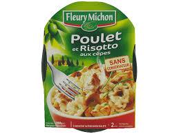 plat cuisiné fleury michon plat cuisiné poulet risotto fleury michon tous les produits plats