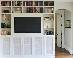 Flat Screen Tv Wall Cabinet With Doors 7 Secrets For Living With A Flat Screen Tv Cord Edition