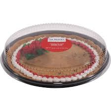 bakery cake wal mart bakery pre decorated message chocolate chip cookie cake