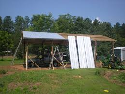 Steel Pole Barn Armour Metals Pole Barns Metal Roofing And Pole Barns