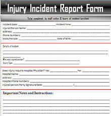 generic incident report template sle incident report letter word excel templates exceltemp