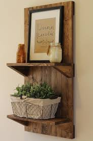 Hanging Wall Shelves Woodworking Plan by Best 25 Wooden Shelves Ideas On Pinterest Shelves Corner