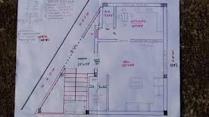 20 x 30 15 x 29 north face house plan walk through youtube
