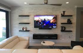 built in tv wall shelf captivating tv wall mount with built in shelf tv wall