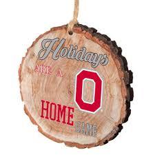 ohio state buckeyes decor ornaments wreath