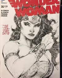 jim lee wonder woman sketch cover 2017 wonder woman pinterest