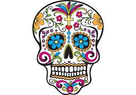 free sugar skull vector