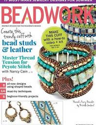 beadwork june july 2015 bloomin beads etc