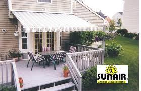 Outdoor Retractable Awnings Retractable Country Canvas Awnings