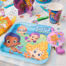 Bubble Guppies Birthday Decorations Bubble Guppies Birthday Idea Party City
