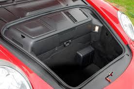 porsche trunk in front porsche 911 coupé 2004 2012 features equipment and