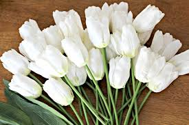 Tulip Wreath Monogram Tulip Wreath Organize And Decorate Everything