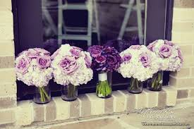 purple bouquets the bouquet inspiring wedding event florals a