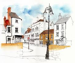 1132 best urban sketches images on pinterest watercolors