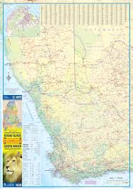Port Elizabeth South Africa Map by South Africa Incl Lesotho U0026 Swaziland Road Map At 1 1 5m Itmb