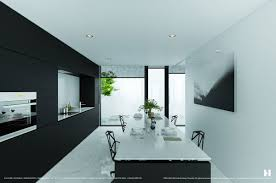 Black And White Dining Room Ideas by 6 Perfectly Minimalistic Black And White Interiors