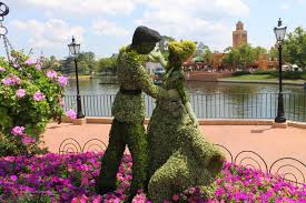 Mickey Mouse Topiary Epcot International Flower U0026 Garden Festival Returns For 2015