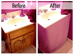 Skirt For Pedestal Sink by Madcap Frenzy Graphic Design Diy And Everything In Between Inside