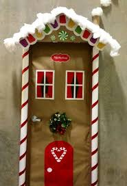 Red Ribbon Door Decorating Ideas Backyards Ideas About Christmas Door Decorations