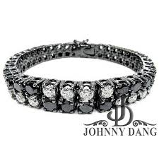 black bracelet diamond images Custom mens diamond bracelets johnny dang and co jpg