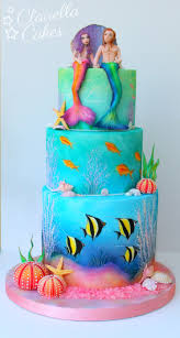 mermaid cakes fish cake tutorial coolest the sea themed cakes cakerschool
