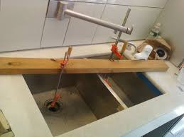 Install Bathroom Sink Plumbing Double Stainless Steel Sink Installation Service