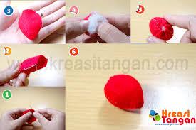 cara membuat gantungan kunci dari kain flanel bentuk kue cara membuat gantungan kunci dari flanel cara membuat gantungan