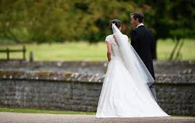 pippa middleton u0027s wedding dress and details savoir flair