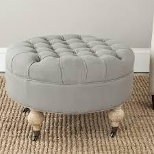 Round Ottoman Mcr4601d Ottomans Furniture By Safavieh