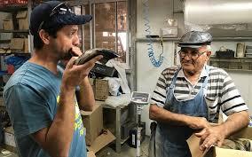 shofar factory golan turkey farm turned shofar factory welds horns for jews far and