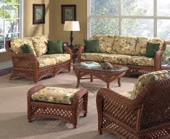 appealing view wicker living room furniture home decor color