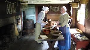 Saltbox House by Daggett Saltbox House Kitchen From 1750 Pt 1 Greenfield Village