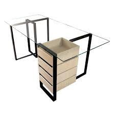 plateau bureau verre bureau plateau verre bureau en bureau avec plateau en verre trempe
