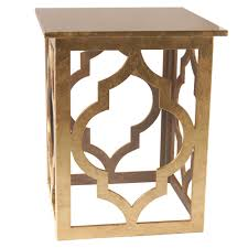 Gold Accent Table Accent Table In Gold