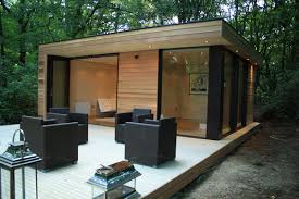 House Features At Only 400 Sq Ft The Slough Garden House Features A Prefab