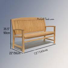 Teak Benches Wood Outdoor Patio Bench Tenafly