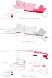 rh architecture shapes white concrete for childcare center in paris